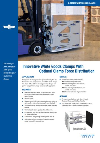 12G-15G White Goods Clamp
