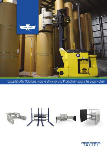 Cascade's AGV Solutions Improve Efficiency and Productivity across the Supply Chain