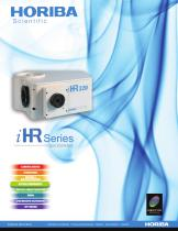 iHR Series Spectrometers