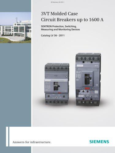 Catalog LV 36 - Circuit Breakers 3VT