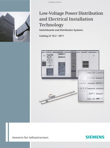 Low-Voltage Power Distribution and Electrical Installation LV 10.1