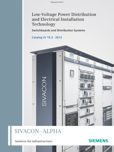 Sow-Voltage Power Distribution and electrical Installation Technology: Switchboards and Distribution Systems