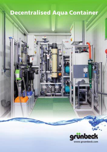 Decentralised Aqua Container
