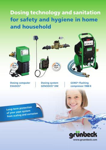 Dosing technology and sanitation