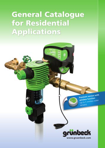 General Catalogue  for Residential   Applications