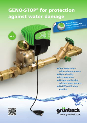GENO-STOP for protection against water damage