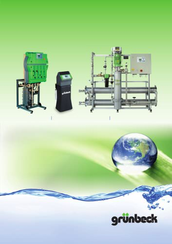 Membrane technology and electro-deionisation