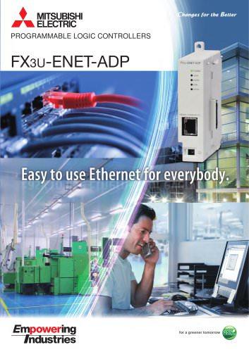 FX3U-ENET-ADP Brochure