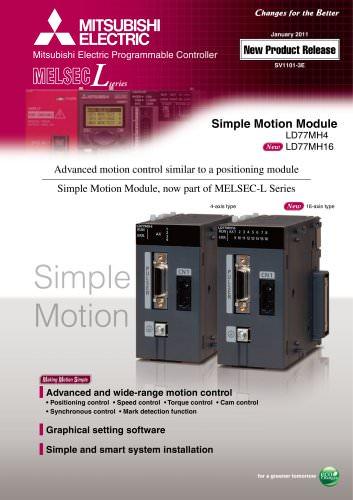 LD77MH Simple Motion Module