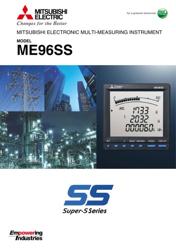 ME96-SS Series Brochure