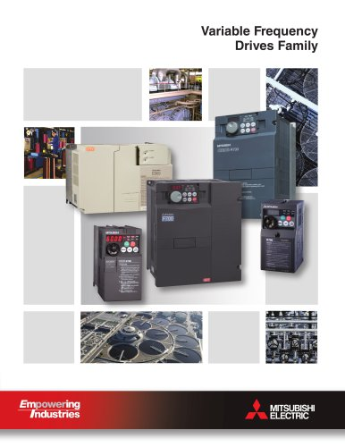 Variable Frequency  Drives Family
