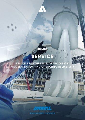 ANDRITZ Pumps service