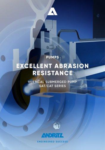 ANDRITZ vertical submerged pump - SAT/CAT series