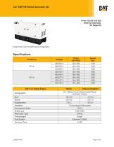 XQP150 Rental Generator Set Spec sheet (EU Stage IIIA)