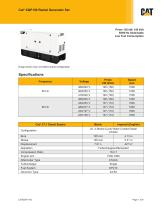 XQP150 Rental Generator Set Spec sheet (Low Fuel Consumption)