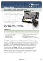 Model DSP-Ex Intrinsically Safe Portable Dewpoint Analyser