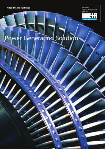 Allen Steam Turbines