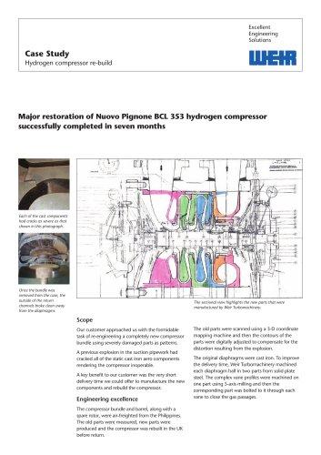Case Study: Compressor Rebuild