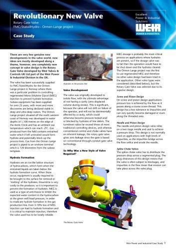 Case Study: Rotary Gate Valve