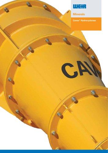 Cavex® Hydrocyclones Product Range