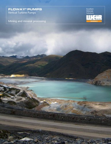 Floway® Mining and mineral processing