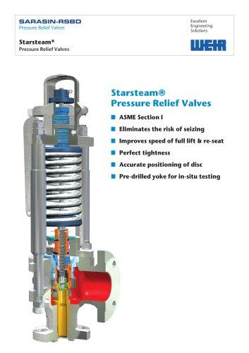 Flyer: Starsteam® Pressure Relief Valve