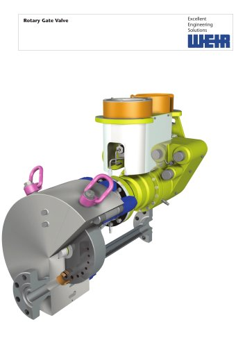 product Brochure: Rotary Gate Valve