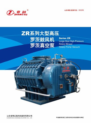 High Pressure Big Size Roots Blower ZR Series