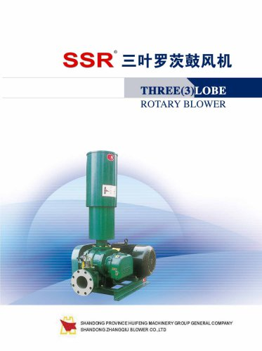 SSR Series Japan-tech WasteWater Treatment Roots Blower