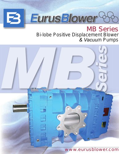 Waste Water Treatment Vehicle Blower USA-tech MBseries