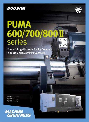 PUMA 600/700/800 II series