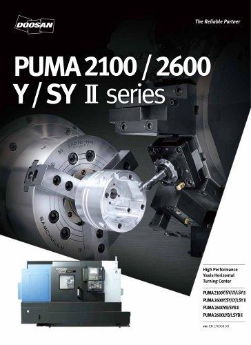 PUMA2100/2600 Y/SYⅡseries