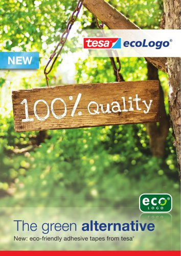 The green alternative New: eco-friendly adhesive tapes from tesa