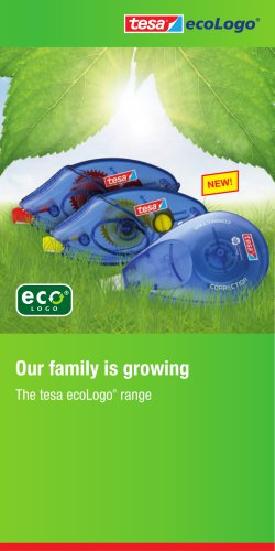 The tesa ecoLogo® range