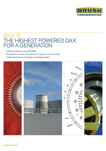 DA X 10 THE HIGHEST POWERED DAX FOR A GENERATION