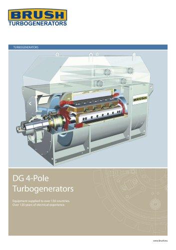 DG 4-Pole Turbogenerators