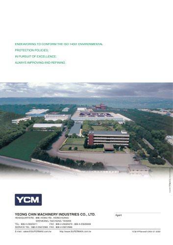 FP Series Vertical Machining Centers