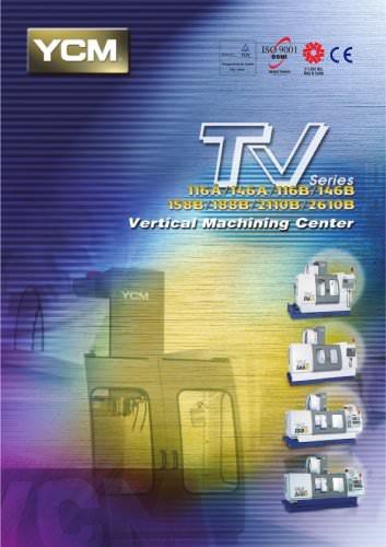 TV Series Vertical Machining Centers