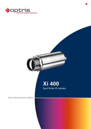 Infrared camera optris Xi 400