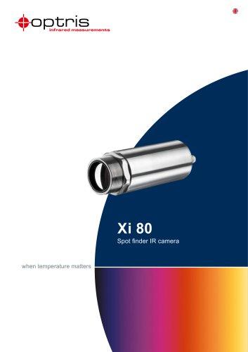 Infrared camera optris Xi 80