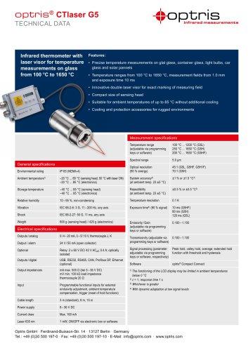 optris CTlaser G5