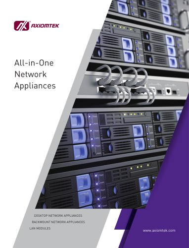 All-in-one Network Appliances