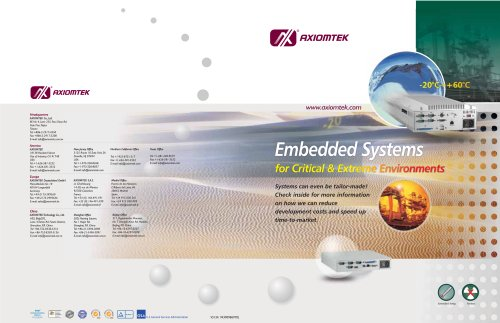 Embedded Systems for Critical & Extreme Environments