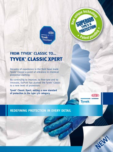 DuPont™ TYVEK® Classic Xpert coverall