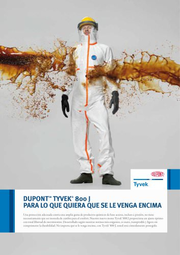 Folleto Tyvek® 800