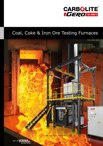 Coal, Coke & Iron Ore Testing Furnaces