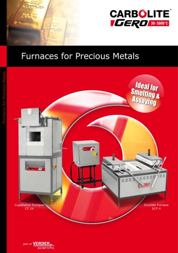 Furnaces for Precious Metals