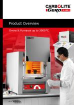 Product Overview Ovens & Furnaces up to 3000 °C