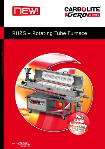 RHZS - Rotating Tube Furnace