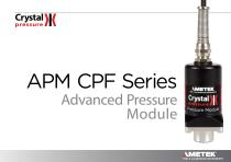 APM CPF Series - Advanced Pressure Modules with CPF Fittings